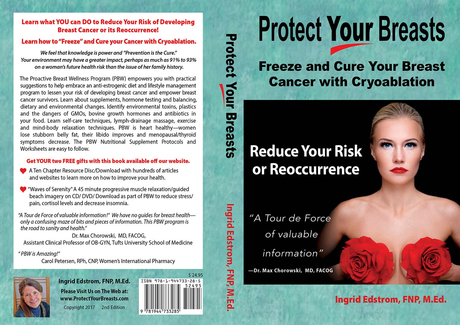 Protect Your Breasts Softcover by Ingrid Edstrom FNP M Ed
